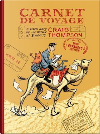 Carnet De Voyage by Craig Thompson