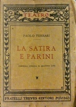 La satira e Parini by Paolo Ferrari