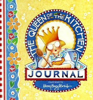 Queen of the Kitchen Journal by Mary Engelbreit