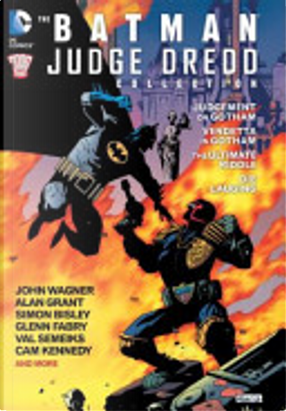 The Batman/Judge Dredd Collection by Alan Grant