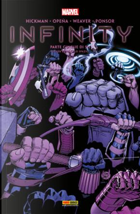 Infinity n. 5 by Frank Tieri, Jonathan Hickman
