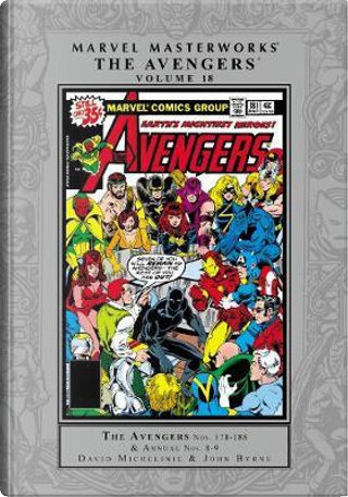 Marvel Masterworks the Avengers 18 by David Michelinie