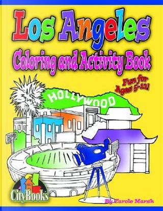 Los Angeles Coloring & Activity Book by Carol Marsh