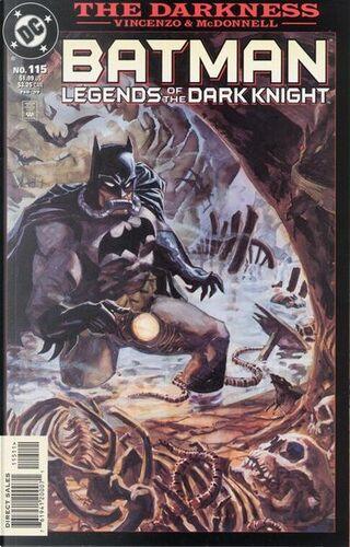 Batman: Legends of the Dark Knight n. 115 by Darren Vincenzo