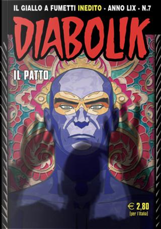Diabolik anno LIX n. 7 by Andrea Pasini, Marcello Bondi, Mario Gomboli, Roberto Altariva