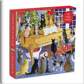 Christmas Chorus 500 Piece Puzzle (Puzzles) by Galison