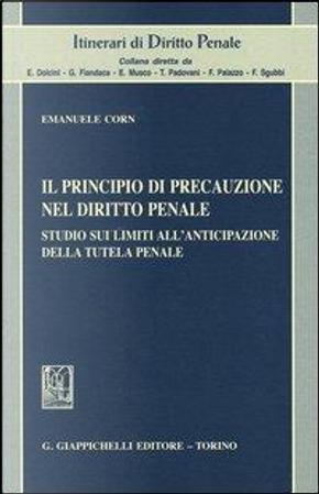 Il principio di precauzione nel diritto penale. Studio sui limiti all'anticipazione della tutela penale by Emanuele Corn