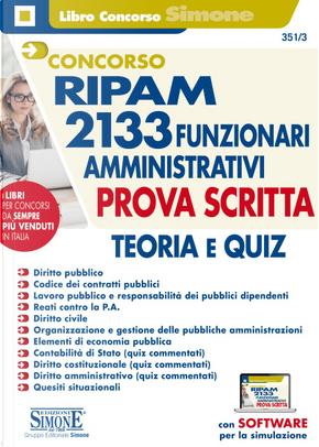 Concorso RIPAM: 2133 funzionari amministrativi - Vol. 3
