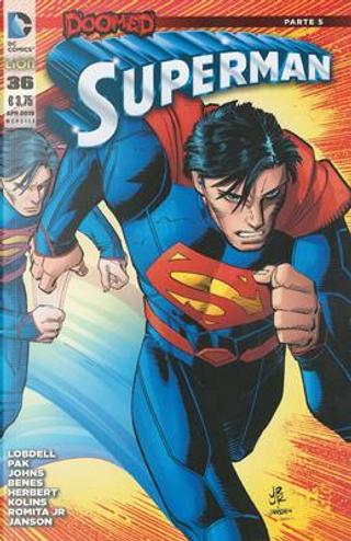 Superman #36 by Geoff Jones, Greg Pak, Scott Lobdell