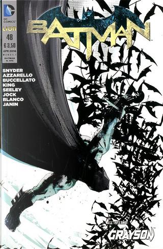Batman #48 by Brian Buccellato, Scott Snyder, Tim Seeley, Tom King