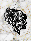 Empowered Women Empower Women 2019 Planner by Vanguard Notebooks