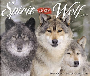 Spirit of the Wolf 2019 Calendar by Willow Creek Press
