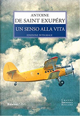 Un senso alla vita by Antoine de Saint-Exupéry