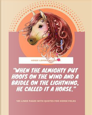 Horse Lovers Notebook by Simple Planners and Journals