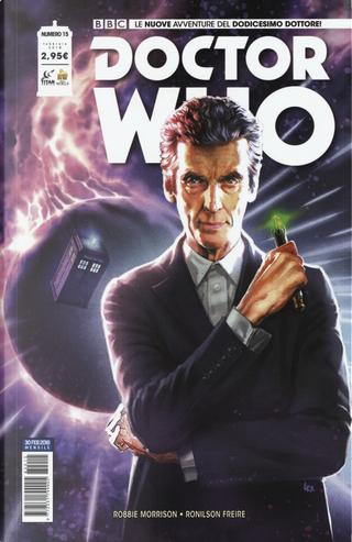 Doctor Who n. 15 by Robbie Morrison