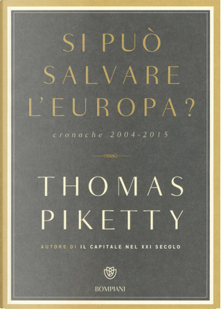 Si può salvare l'Europa? by Thomas Piketty