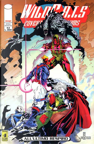 WildC.A.T.S n. 8 by Brandon Choi, James Robinson, Jim Lee, Mat Broome, Ron Marz, Tim Sale, Travis Charest, Troy Hubbs