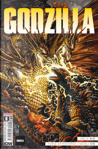 Godzilla vol. 8 by Jeremy Robinson, Josha Hale Fialkov