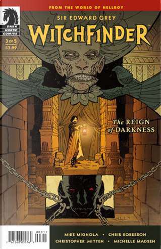 Witchfinder: The Reign of Darkness 3 by Chris Roberson, Mike Mignola