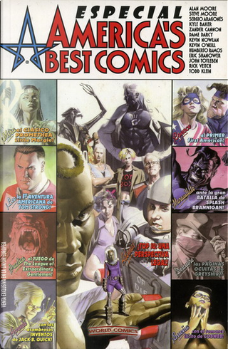 Especial America's Best Comics by Alan Moore, Steve Moore, Rick Veitch