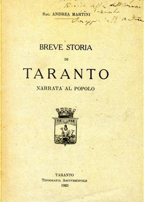 Breve storia di Taranto by Andrea Martini