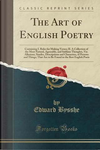 The Art of English Poetry by Edward Bysshe