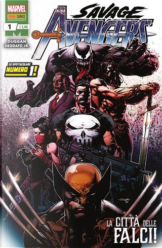 Savage Avengers n. 1 by Gerry Duggan