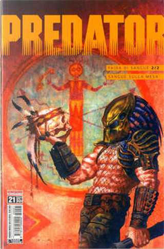 Predator #21 by Neal Barrett Jr., Terry Laban