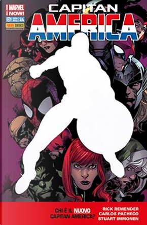 Capitan America #24 Marvel Now! by Brian Vaughan, Rick Remender