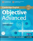 Objective Advanced. Student's book with answers. Con CD-ROM by Felicity O'Dell
