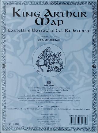 King Arthur's map by Eta Musciàd, Silvio Canavese