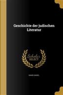 GER-GESCHICHTE DER JUDISCHEN L by David Cassel