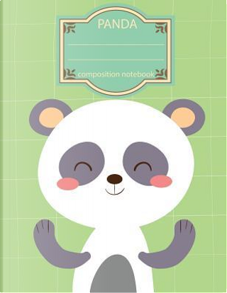 Composition Notebook Panda by Ms. Composition