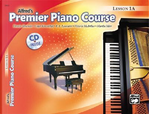 Alfred's Premier Piano Course Lesson 1A by Dennis Alexander