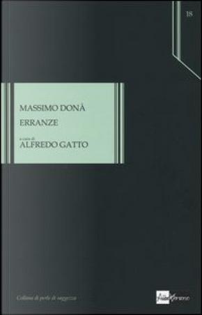 Erranze by Donà Massimo