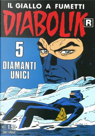 """Diabolik """"R"""" n. 554 by Angela Giussani, Luciana Giussani"""