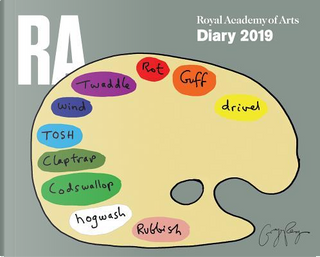 Royal Academy of Arts 2019 Desk Diary by Flame Tree