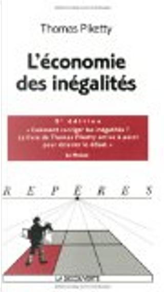 L'économie des inégalités by Thomas Piketty