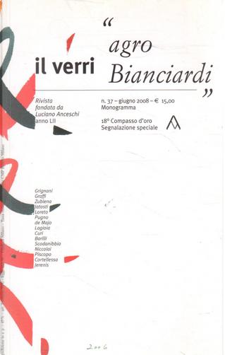 Il Verri. Rivista di letteratura n. 37 (Anno 52 - giugno 2008)