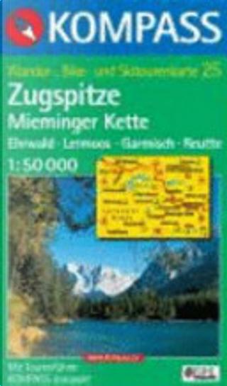 25: Ehrwald - Lermoos-Mieminger Kette 1:50, 000 by Kompass-Karten GmbH