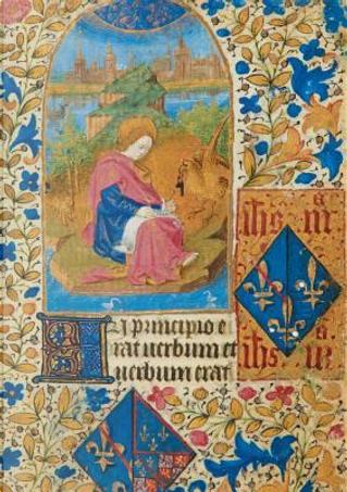 Carnet Blanc Heures Jeanne de France, Phoenix by Sans Auteur