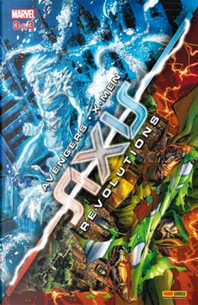 Avengers & X-Men: Axis Revolutions #3 by Frank Barbiere, Howard Chaykin, John Barber, Kevin Shinick, Ray Fawkes