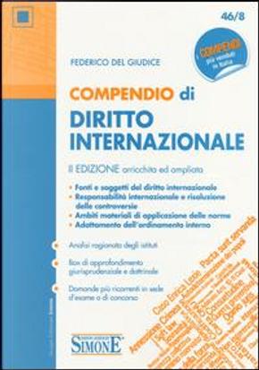 Compendio di diritto internazionale by Federico Del Giudice