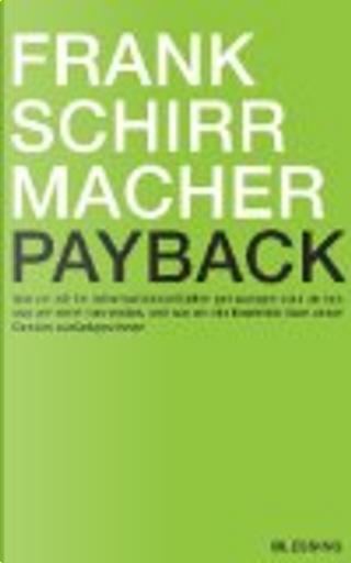 Payback by Frank Schirrmacher