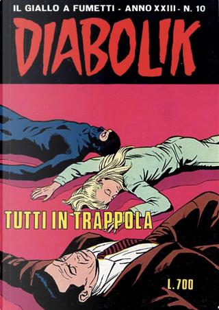 Diabolik anno XXIII n. 10 by Angela Giussani, Luciana Giussani