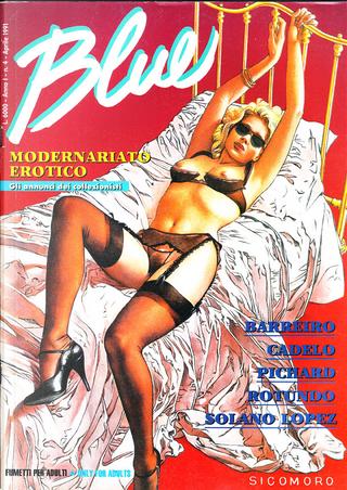 Blue n. 4 by Francisco Solano Lopez, Georges Pichard, Massimo Rotundo, Silvio Cadelo