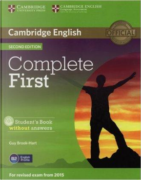 Complete first certificate. Student's book without answers. Per le Scuole superiori. Con CD-ROM. Con espansione online by Brook-Hart