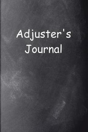 Adjuster's Journal Chalkboard Design by Distinctive Journals