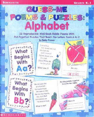 Guess Me Poems and Puzzles Alphabet by Betsy Franco