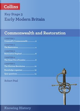KS3 History Commonwealth and Restoration (Knowing History) by Robert Peal